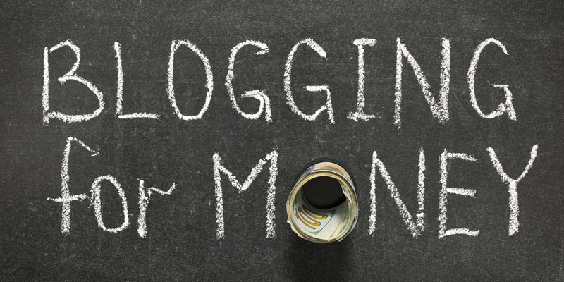 Creating Income From Blogging Small of earn money on internet