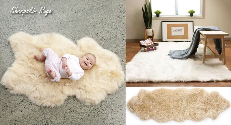 The Many Wonderful Colors Of Sheepskin Rugs